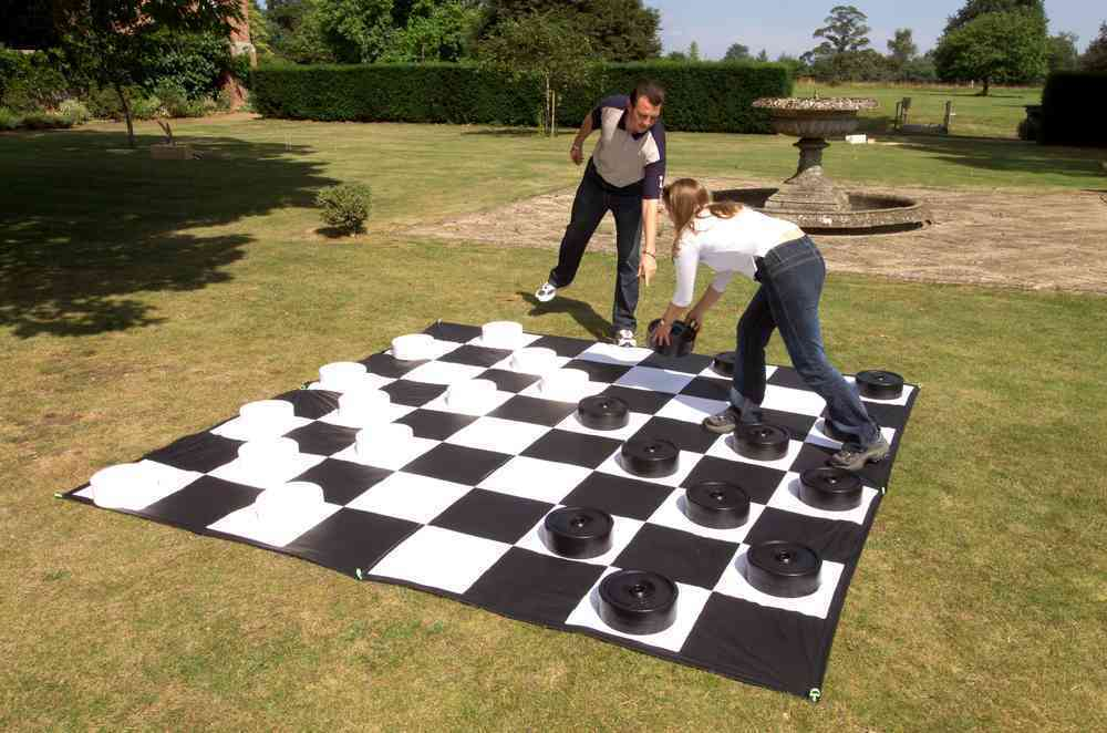 Giant CHECKERS - CE611 + CE611M - Man + Woman
